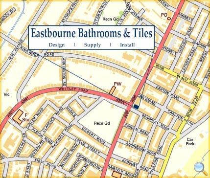 Bathroom Tiles Eastbourne eastbourne bathrooms & tiles - find us